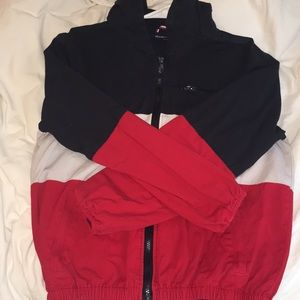 brandy melville windbreaker jacket !!